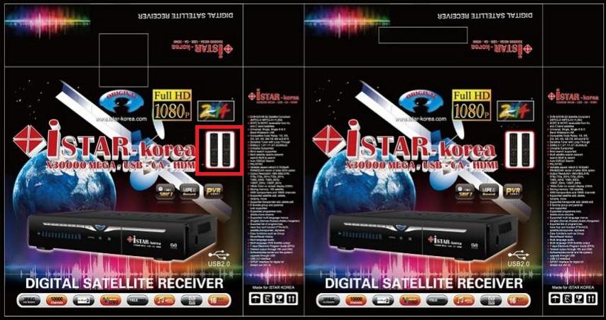 و معرفی رسیور آی استار Istar X30000 MEGA Full HD